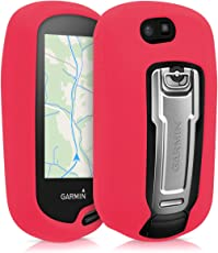 kwmobile Hülle für Garmin Oregon 700 / 750t - GPS Handgerät Navi Silikon Schutzhülle - Outdoor Navigationsgerät Case Cover Rot