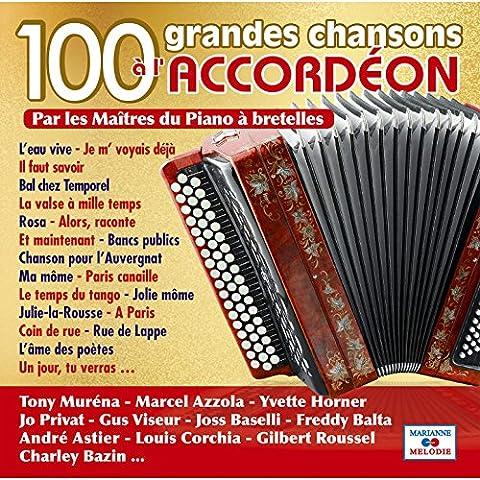 Chansons Marianne - 100 grandes chansons à l'accordéon par les