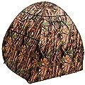 Pop-Up Tarnzelt mit Wald-Tarnmuster und drei Fenstern, ideal für Naturfotografen von Ao Li Foto auf Gartenmöbel von Du und Dein Garten
