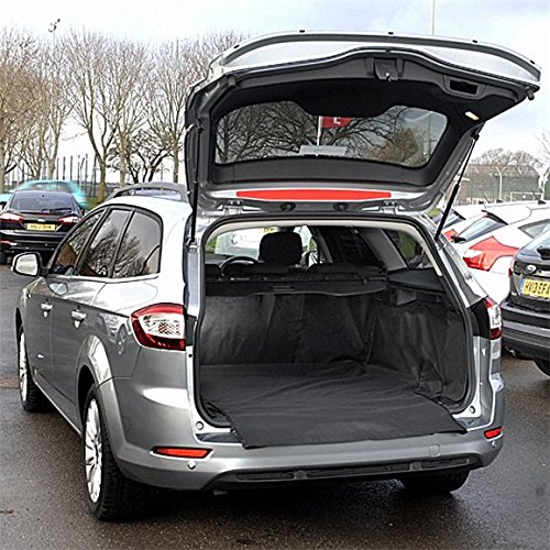 2007- Connected Essentials Tailored Custom Fit Car Mats for Citroen C Crosser Black with Grey Trim Car Mat Set