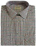 Herren Arbeit Shirt gewebtes Polyester/Baumwolle angeraut M-L-XL-XXL
