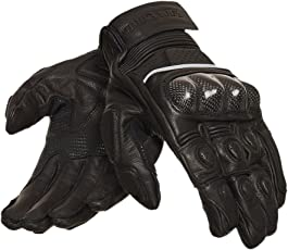 Royal Enfield Short Riding GLAW17001 Gloves (Black, L)