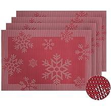 suchergebnis auf f r 4 rote platzdeckchen aus stoff. Black Bedroom Furniture Sets. Home Design Ideas