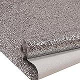 Silber Chunky Flitter Tapeten, Glitzer Fabric Wall Papier, Bling tapetenherstellung W 69cm x L 10m
