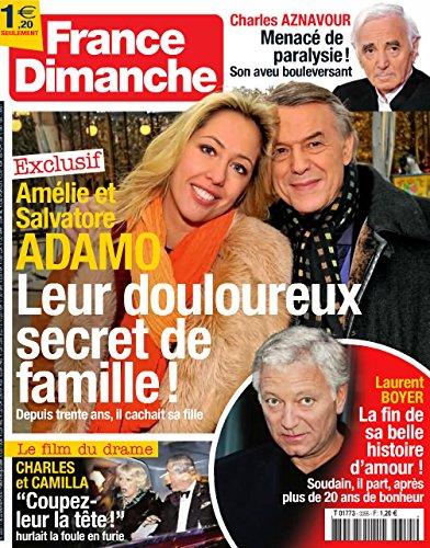 France Dimanche n 3355 - ADAMO / Simone Langlois / interview de Claude Pinoteau