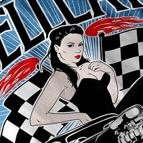 Heiß Mädchen Auto Hölle Auto Damen S-2XL T-shirt   Wellcoda Royal Blue