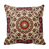 Tulsa Oklahoma famose attrazioni throw 18 * 18 Pillow case, s-16, 18*18