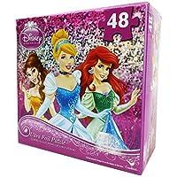 Princess 48 Piece Ultra Foil Puzzle - Cinderella, Belle, Ariel by Cardinal