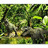 murando - Fototapete selbstklebend Dinosaurier 98x70 cm decor Tapeten Wandtapete klebend Klebefolie Dekofolie Tapetenfolie - Tiere Tropisch g-C-0096-a-a