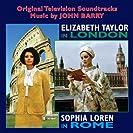 Elizabeth Taylor In London Sophia Loren In Rome
