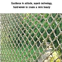 GZHENH Rope Net Decor Net Anti-fall Net ,Children Climbing Net Wall Decoration Net Hand-woven Net Rope Rope Thick 12mm Railing Safety Net,customizable
