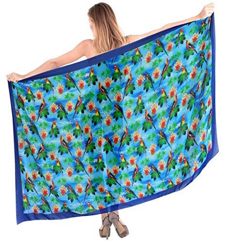 La Leela anthemion Beachwear Bikini Swimwear Swimsuit Women's Sarong Ladies Wrap Pareo Cover up