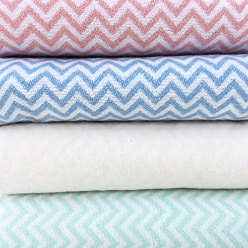 Poplico Lovely Swaddle Chevron, cremefarben