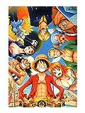 CoolChange puzzle di One Piece, 1000 pezzi, motivo: l'equipaggio cappello di paglia