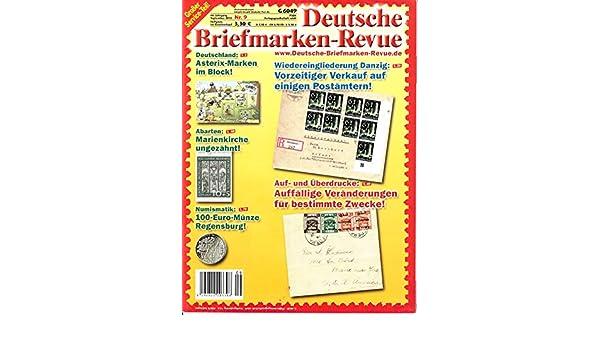 Deutsche Briefmarken Revue 9 2015 Danzig Postämter Zeitschrift