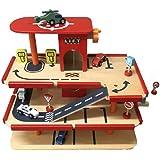 Gamez Galore Multi-storey Car Park Wooden Garage with Lift
