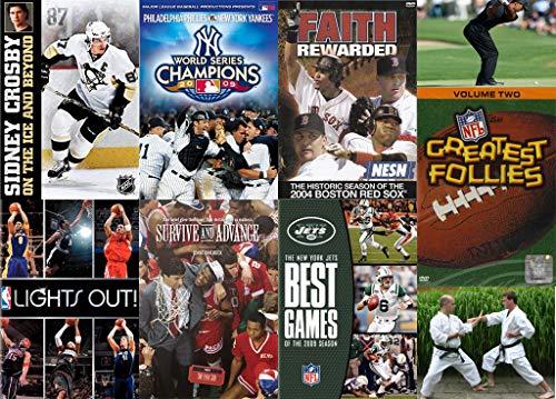 HECK YEAH SPORTS!!! ESPN NFL NBA MLB NHL all the bases covered...get it? (7 DVD MEGA Bundle) -