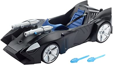 Batman Justice League Action Twin Blast Batmobile Vehicle, Multi Color