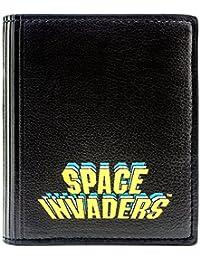 Cartera de Space Invaders Escena del juego Negro
