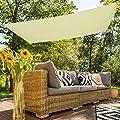 Aktive Sonnensegel für Garten, Polyester, 2x 3m, creme (COLORBABY 53917) von ColorBaby bei Gartenmöbel von Du und Dein Garten