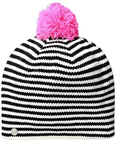 Spyder Girls Treasure Hat, One Size, White/Black/Bryte Bubblegum