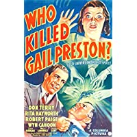 Who Killed Gail Preston? U Movie Poster Masterprint (60.96 x 91.44 cm)