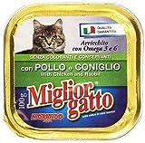 Miglior Gatto Vaschetta Pollo e Coniglio 100 g