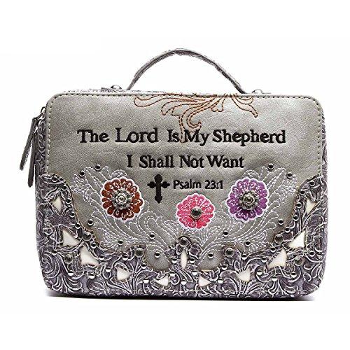 Bibel-Taschen-Tasche Biblische Buch-Abdeckung Schwarzes