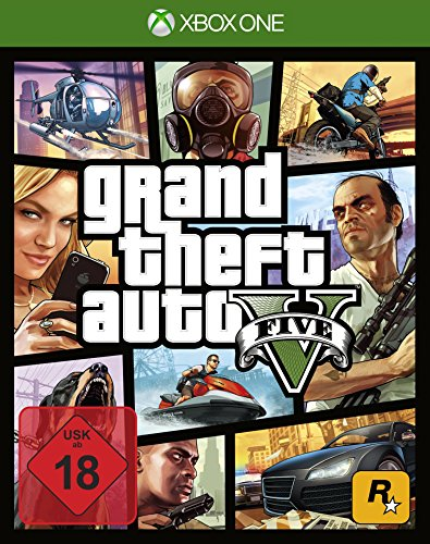 Grand Theft Auto V - [Xbox One] (Video-spiel-xbox One)
