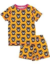 maxomorra Schlafanzug Kurzarm aus Biobaumwolle