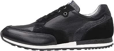 Nero Giardini P800240U Sneakers Uomo in Pelle E Camoscio