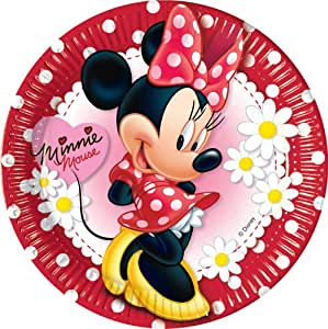 Assiettes Minnie© Disney x10 - Taille Unique