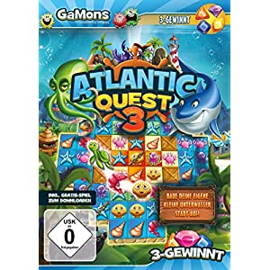 GaMons – Atlantic Quest 3 [PC]