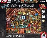 Schmidt Spiele 59379 - Aimée Steward, Kostbarkeiten unter Dem Dach, Puzzle, 1000 Teile