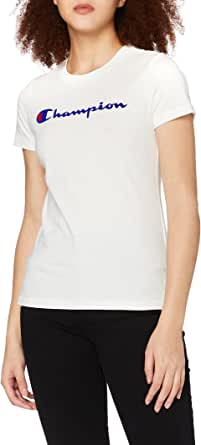 Champion Classic Logo T-Shirt Maglietta Donna