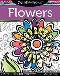 Zenspirations(TM) Coloring Book Flowers: Create, Color, Pattern, Play! by Fink, Joanne (2013) Paperback