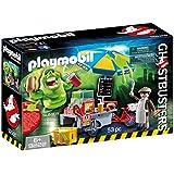 Playmobil - Slimer con stand de hot dog (9222)