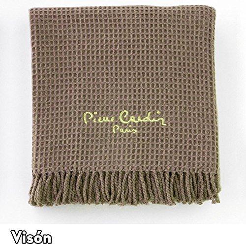 Plaid para Cama y Sofá Modelo 900 PARIS, Color VISÓN 07, Medida: 140x180cm