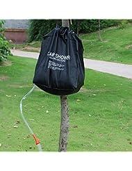 tfxwerws 40L senderismo Camping campamento ducha bolsa caso bolsa de ducha calefacción solar