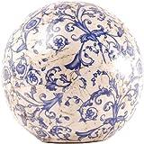 Esschert Design - Boule en ceramique bleue Modello grande