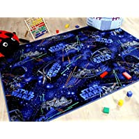 Alfombra Infantil de Star Wars - Azul - 17 tamaños