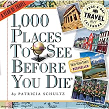1,000 Places to See Before You Die 2017 Calendar