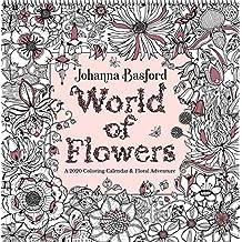 Johanna Basford 2020 Coloring Wall Calendar