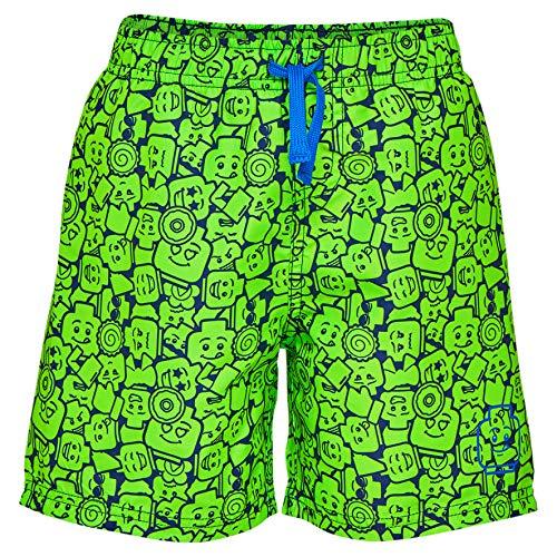 LEGO Wear Boy Platon 301-Badeshorts Bañador, Verde Green 854, 116 para Niños
