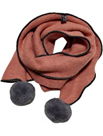 3abce8b10a21 Oyfel Écharpe Foulard Châle Automne Hiver Polaire Noel Mode Design Chic  Triangle Carre Rectangle Maille Mohair
