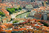 The Poster Corp Panoramic Images - Elevated View of Bilbao
