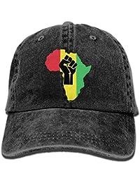 500ec88913ea6 RAÍCES africanas Impresas en Negro Piezas Power. Gorra de papá PNG Neutral  Adulto Ajustable para