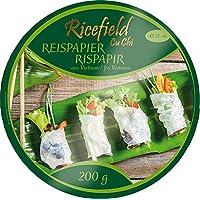 Ricefield Papel De Arroz Redondo 22 Cm 200 g