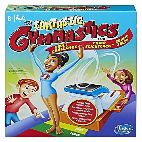 Hasbro Gymnastic Vault Challenge Niños y Adultos Juego de Azar - Juego de Tablero (Juego de Azar, Niños y Adultos, Niño/niña, Caja)