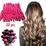 Best Curlers For Long Hairs - LIGE 20pcs Flexible Foam Sponge Hair Curlers,Foam Hair Review